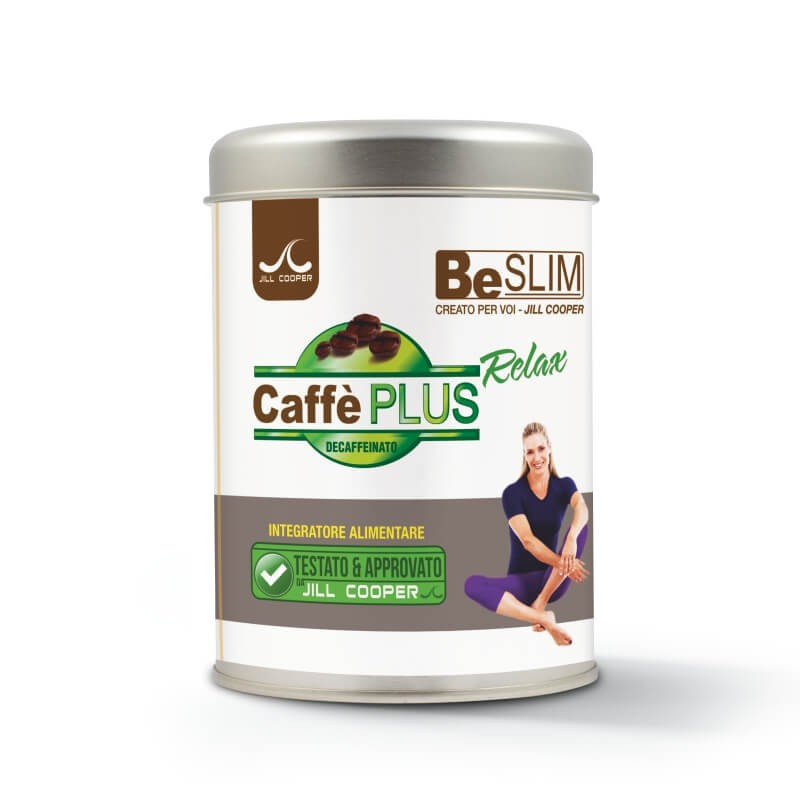 Caffè Plus Relax solubile 180g BeSlim Jill Cooper