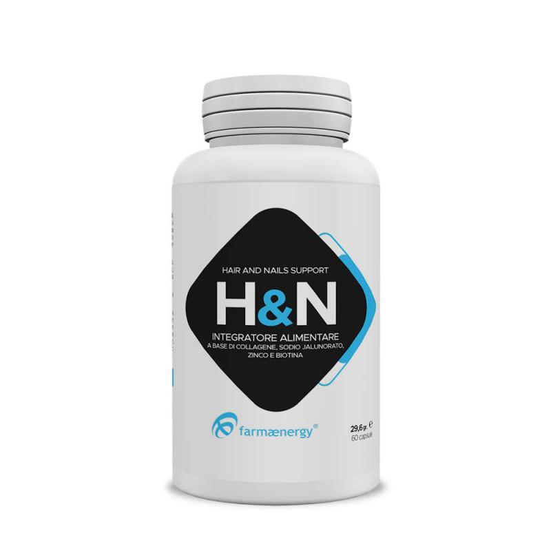 H&N 60 capsule - Integratore Capelli e Unghie