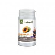 Papaya Plus + Spirulina 60 capsule Natur All