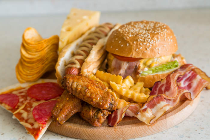 cibi da evitare (junk foods)